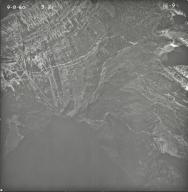 Agassiz Creek, aerial photograph 1E-9, Montana