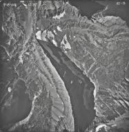 Oberlin Falls, aerial photograph 21-5, Montana