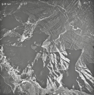 Mount Oberlin, aerial photograph 21-7, Montana