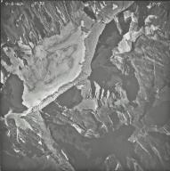Sperry Glacier, aerial photograph 25-7, Montana