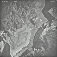 Sperry Glacier, aerial photograph 25-8, Montana