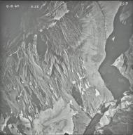 Sperry Glacier, aerial photograph 25-9, Montana