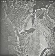 Dixon Glacier, aerial photograph 4A-5, Montana
