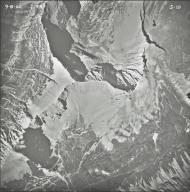 Miche Wabun Lake, aerial photograph 5-10, Montana