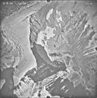 Sexton Glacier, aerial photograph 11-4, Montana