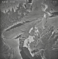 Sexton Glacier, aerial photograph 11-5, Montana