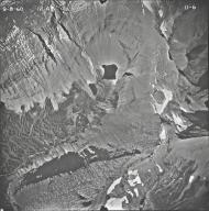 Sexton Glacier, aerial photograph 11-6, Montana