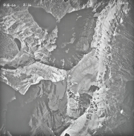 Wurdemon Lake and Chapman Peak, aerial photograph 18A-4, Montana
