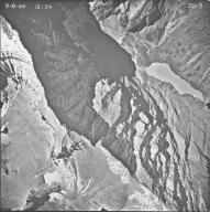 Siyeh Glacier, aerial photograph 20-3, Montana