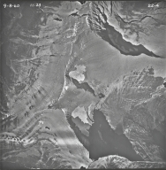 Little Chief Mountain, aerial photograph 22-4, Montana