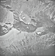 Mount James, aerial photograph 23A-2, Montana