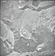 Mount James, aerial photograph 23A-3, Montana