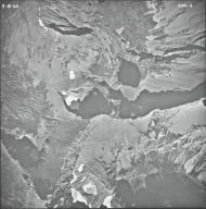 Medicine Owl Lake, aerial photograph 23A-4, Montana