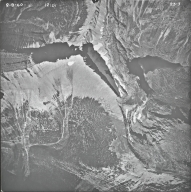 Triple Divide Peak, aerial photograph 23-3, Montana