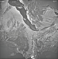 Split Mountain, aerial photograph 23-5, Montana