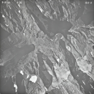 Gunsight Pass, aerial photograph 25-5, Montana