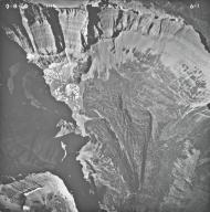 Shepard Glacier, aerial photograph 6-1, Montana