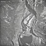 Shepard Glacier, aerial photograph 6-12, Montana