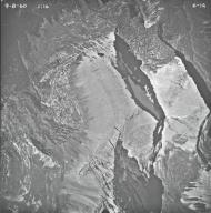 Shepard Glacier, aerial photograph 6-14, Montana