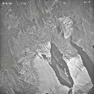 Shepard Glacier, aerial photograph 6-15, Montana