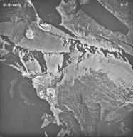 Shepard Glacier, aerial photograph 6-2, Montana