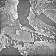Ahern Glacier, aerial photograph 6-3, Montana