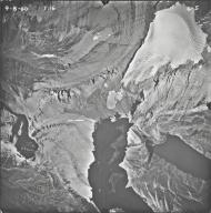 Ahern Glacier, aerial photograph 6-5, Montana