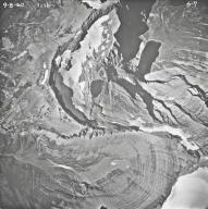 Ipasha Glacier, aerial photograph 6-7, Montana