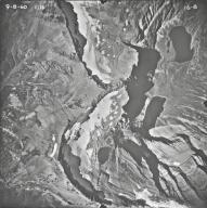 Ipasha Glacier, aerial photograph 6-8, Montana