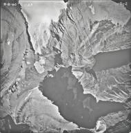 Ahern Glacier, aerial photograph 7-2, Montana