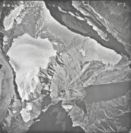 Ahern Glacier, aerial photograph 7-3, Montana