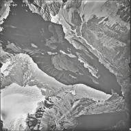 Old Sun Glacier, aerial photograph 7-4, Montana