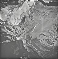 Old Sun Glacier, aerial photograph 7-6, Montana
