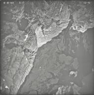 Kintla Glacier, aerial photograph FL ID-6, Montana