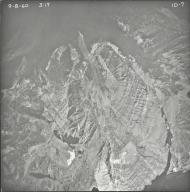No glacier, aerial photograph FL ID-7, Montana
