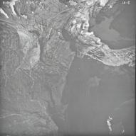 Agassiz Glacier, aerial photograph IA-2, Montana