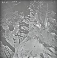 Agassiz Glacier, aerial photograph IA-5, Montana