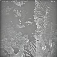 Baby Glacier, aerial photograph IA-6, Montana