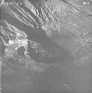Agassiz Glacier, aerial photograph IB-3, Montana