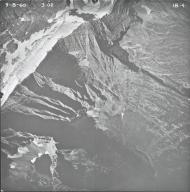 Agassiz Glacier, aerial photograph IB-4, Montana
