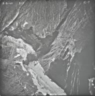 Agassiz Glacier, aerial photograph IC-7, Montana