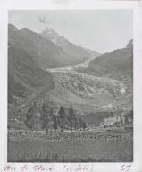 Mer de Glace Glacier, France