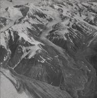 Variegated Glacier, aerial photograph F64699, Alaska