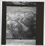 Variegated Glacier, aerial photograph F652237, Alaska