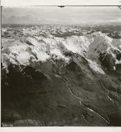 Tarr Inlet, aerial photograph, 6611-58, Alaska