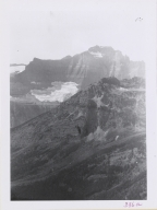 Unknown glacier near Ahern Pass, Montana