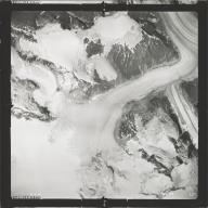 Chickamin Glacier, aerial photograph SEA 109-127, Alaska