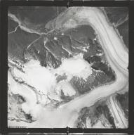 Chickamin Glacier, aerial photograph SEA 109-128, Alaska