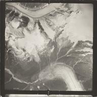 Chickamin Glacier, aerial photograph SEA 109-130, Alaska