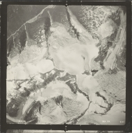 Leduc Glacier, aerial photograph SEA 109-133, British Columbia